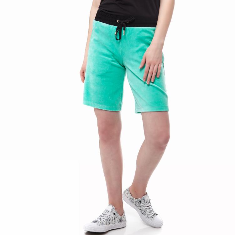 JUICY COUTURE - Γυναικεία βερμούδα Juicy Couture πράσινη