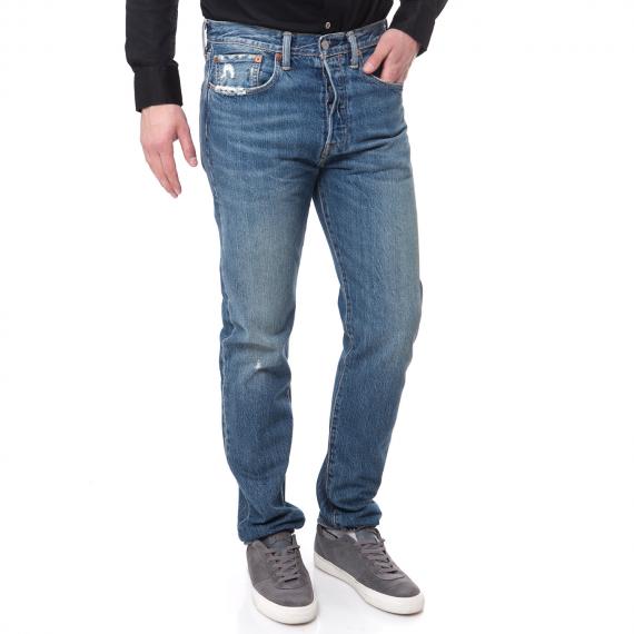 LEVI'S - Ανδρικό τζιν παντελόνι 501 Levi's μπλε