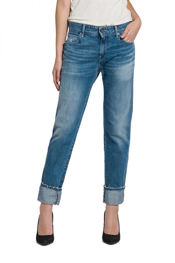 Replay Kellygray γυναικείο straight-fit jeans