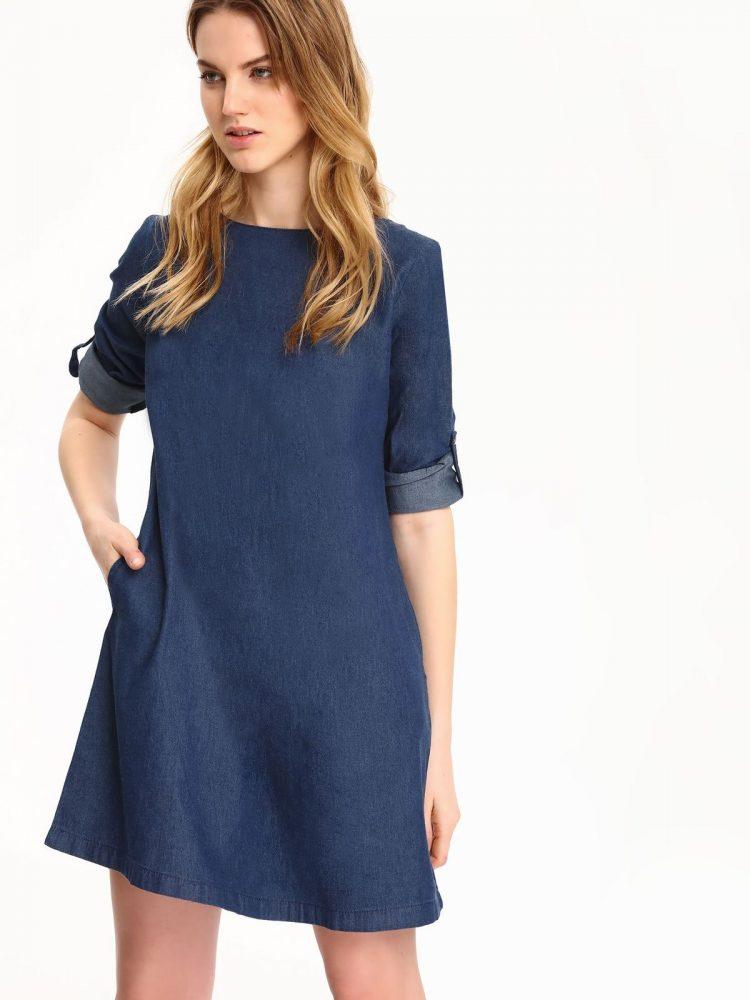 TOP SECRET top secret μινι τζιν φορεμα