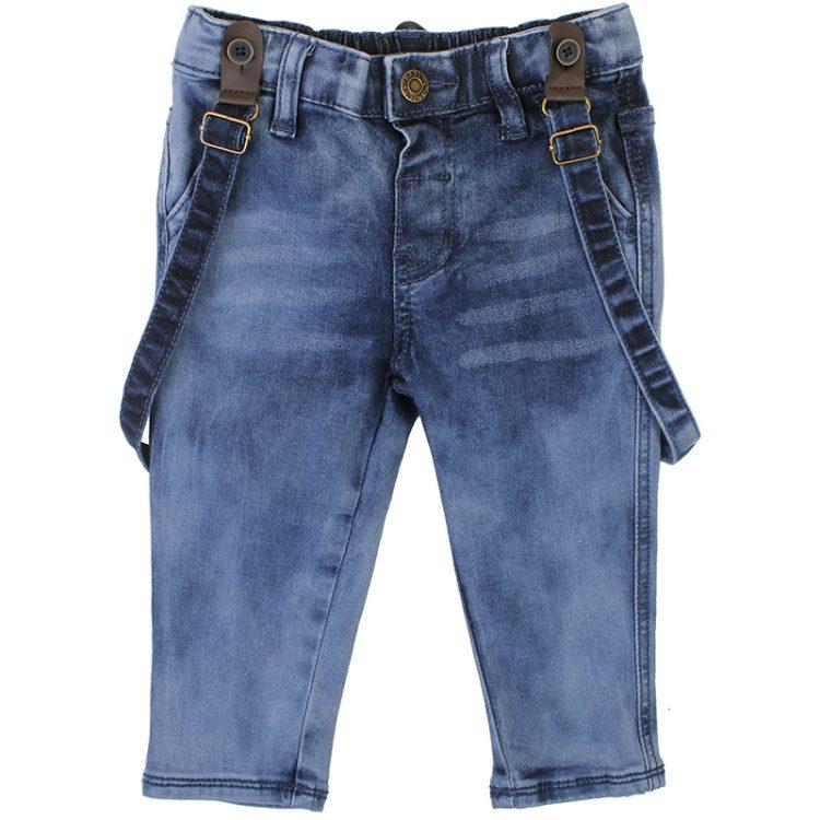 Παντελόνι τζιν με τιράντες (Αγόρι 9 μηνών-3 ετών) 00211663