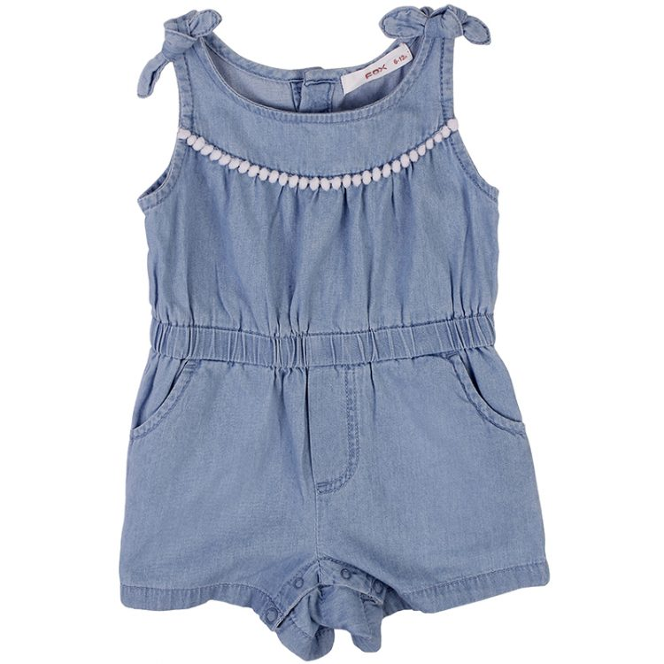 Σαλοπέτα τζιν (Κορίτσι 9 μηνών-3 ετών) 00211712