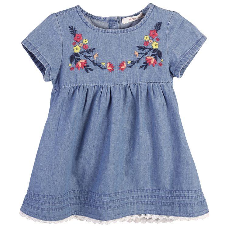 Φόρεμα τζιν (Κορίτσι 9 μηνών-2 ετών) 00241144