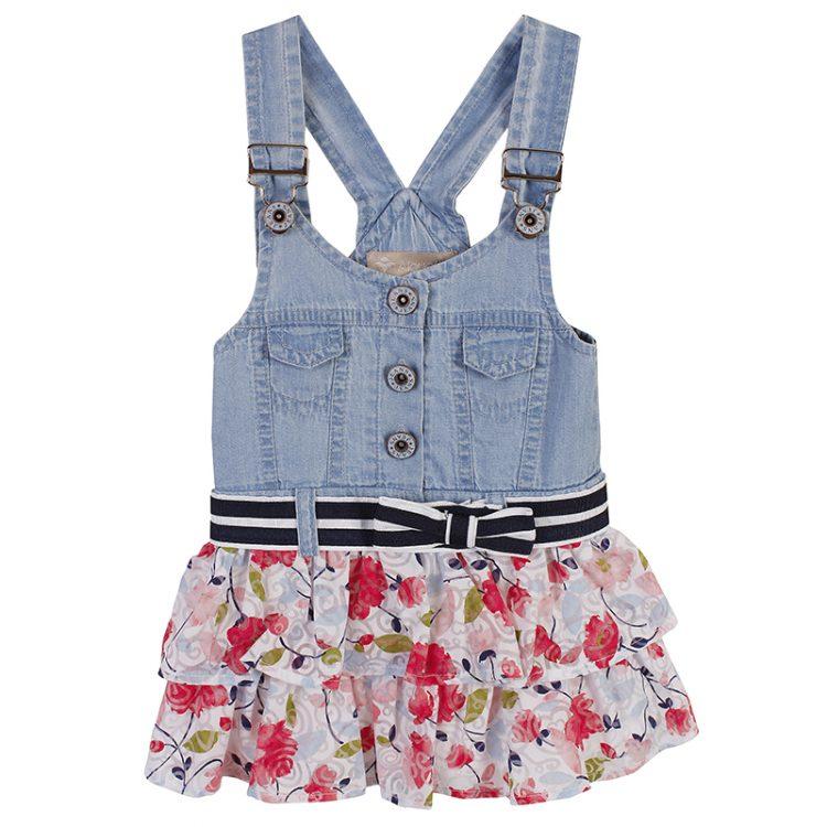 Φόρεμα τζιν (Κορίτσι 6-18 μηνών) 00440499