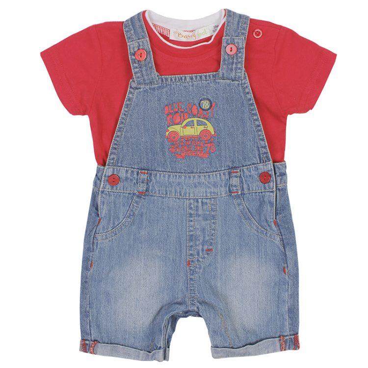 Σαλοπέτα με Μπλούζα (Αγόρι 3-12 μηνών) 00470519