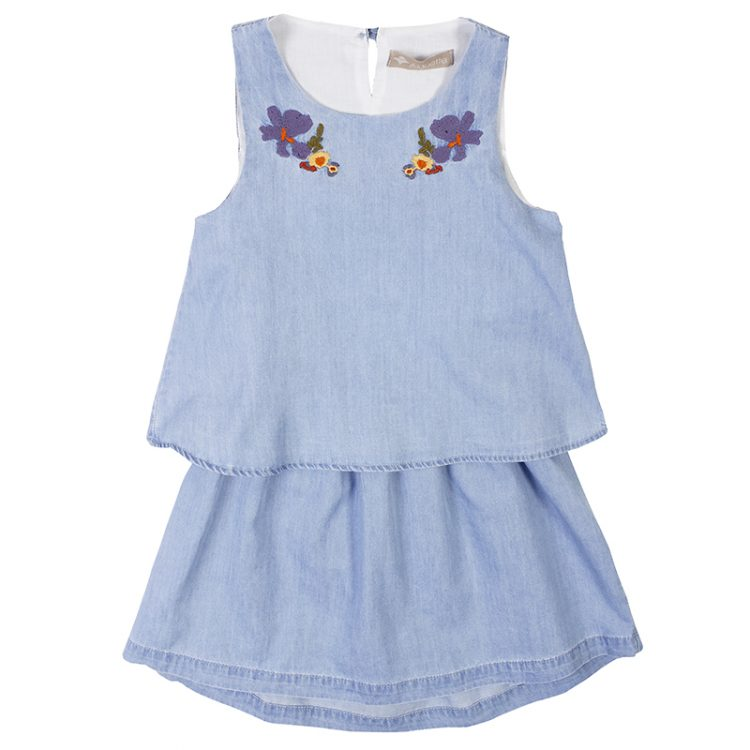 Φόρεμα τζιν (Κορίτσι 6-12 ετών) 00941418
