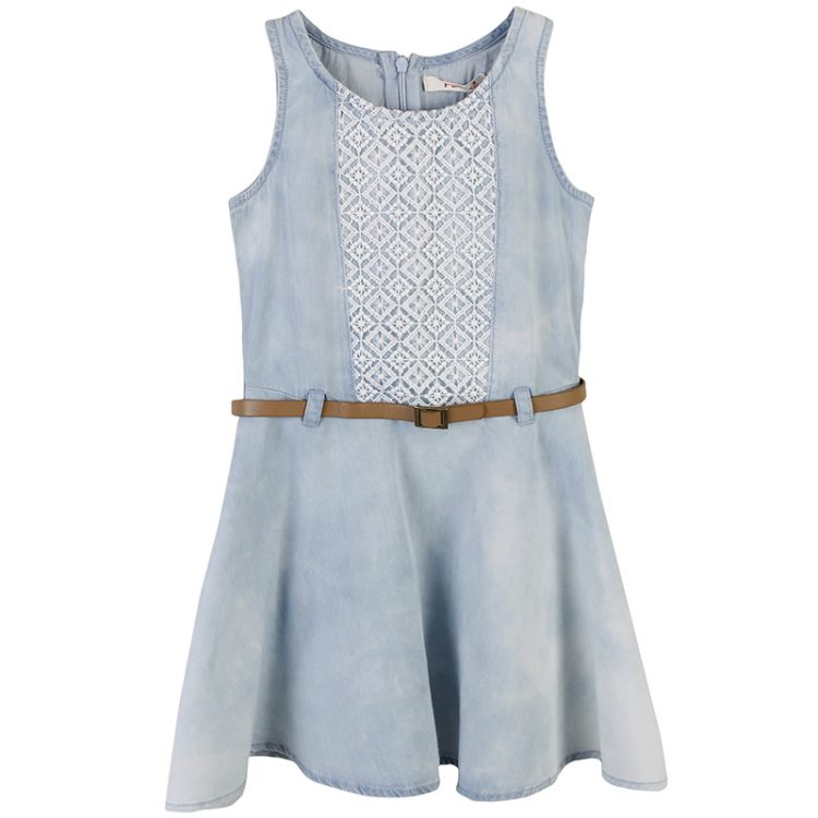 Φόρεμα τζιν (Κορίτσι 6-16 ετών) 00941590