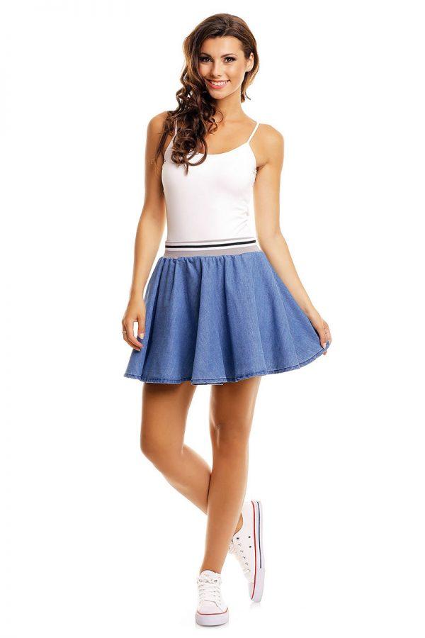 Κλος τζιν μίνι φούστα Sublevel - Μπλε