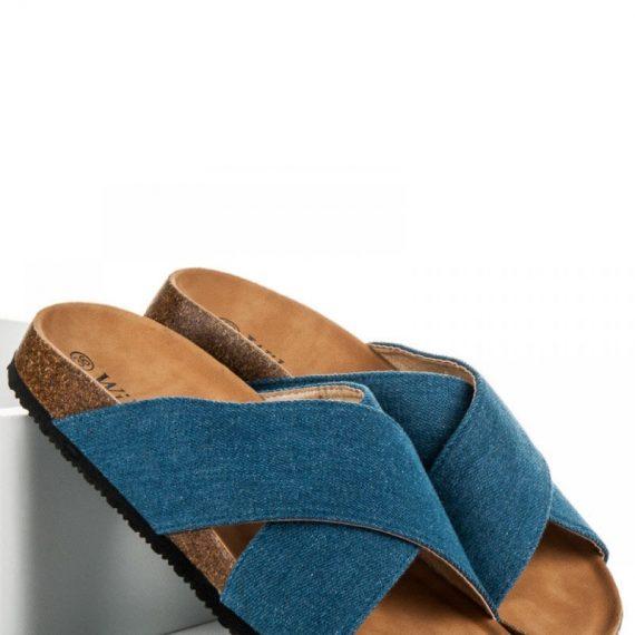 Τζιν flip flops - Μπλε