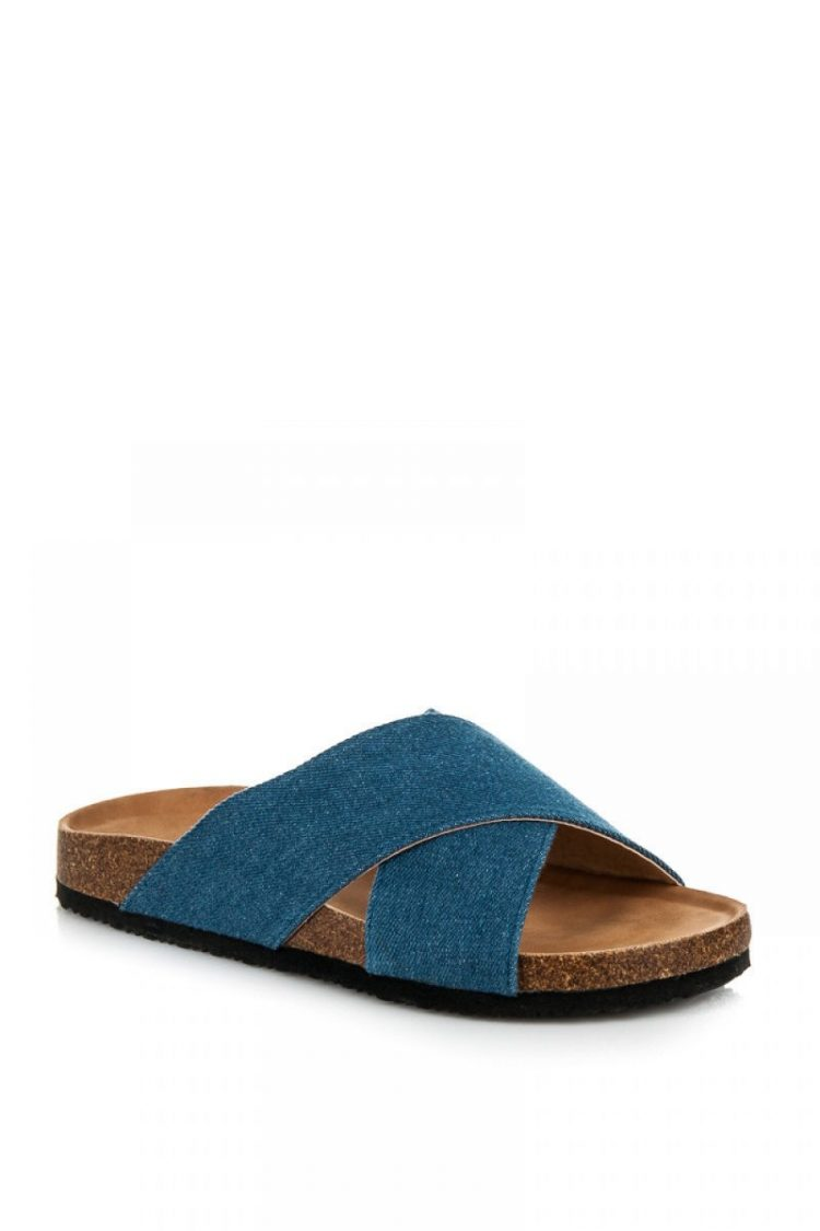 Τζιν flip flops - Μπλε 1