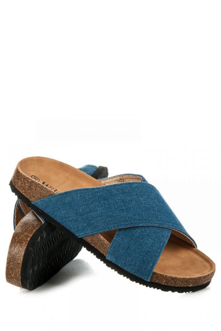 Τζιν flip flops - Μπλε 2