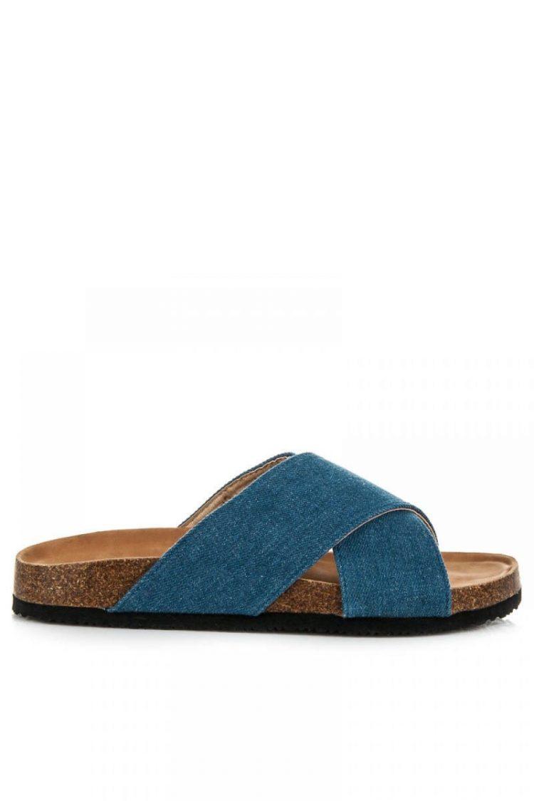 Τζιν flip flops - Μπλε 3