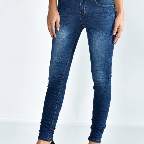 Ελαστικό τζιν παντελόνι - Μπλε
