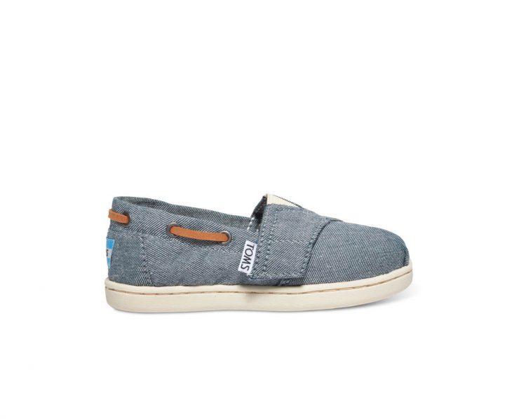 Toms Παπούτσια Παιδικά Chambray Tiny Bimini 10007505 (Denim)