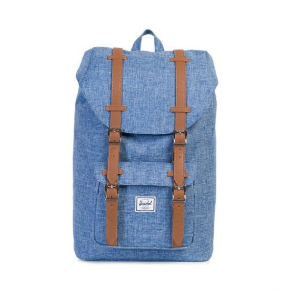 Herschel Backpack Σακίδιο πλάτης Little America Mid Volume 10020-00918 (Denim)