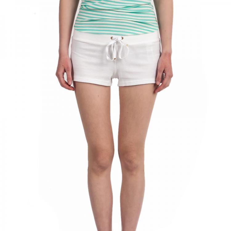 JUICY COUTURE - Γυναικείο σορτς Juicy Couture λευκό