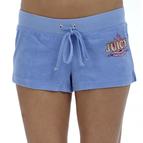 JUICY COUTURE - Γυναικείο σορτς Juicy Couture σιέλ