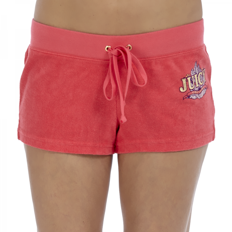 JUICY COUTURE - Γυναικείο σορτς Juicy Couture κοραλί