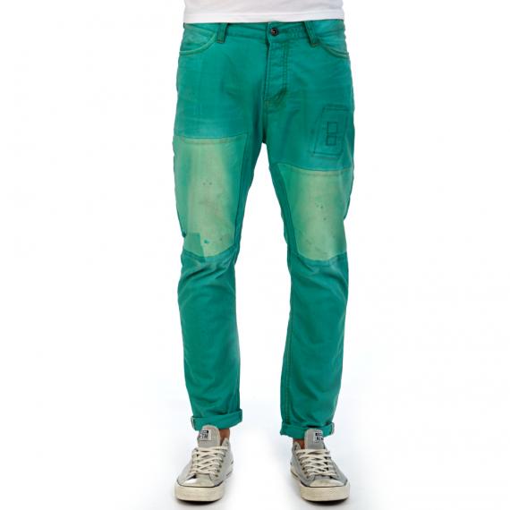 SCOTCH & SODA - Ανδρικό παντελόνι SCOTCH & SODA πράσινο