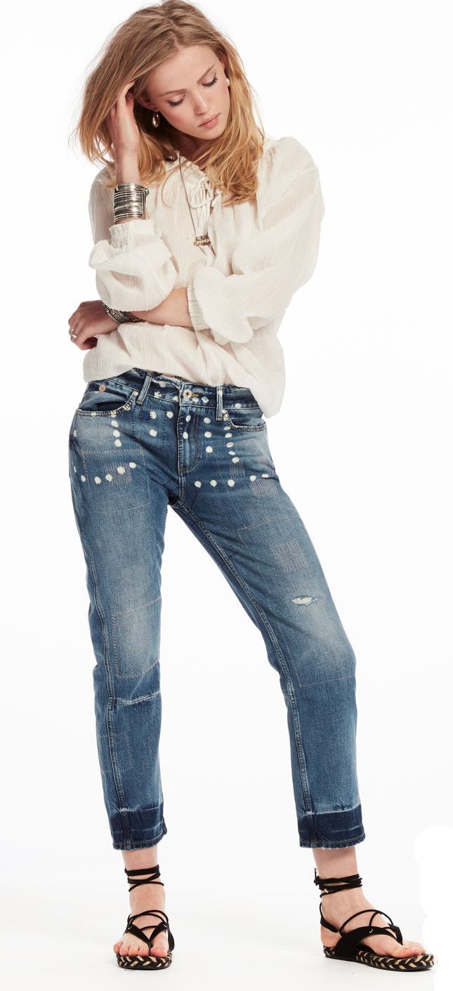 Scotch and Soda Boyfriend Bandits jeans (Denim)