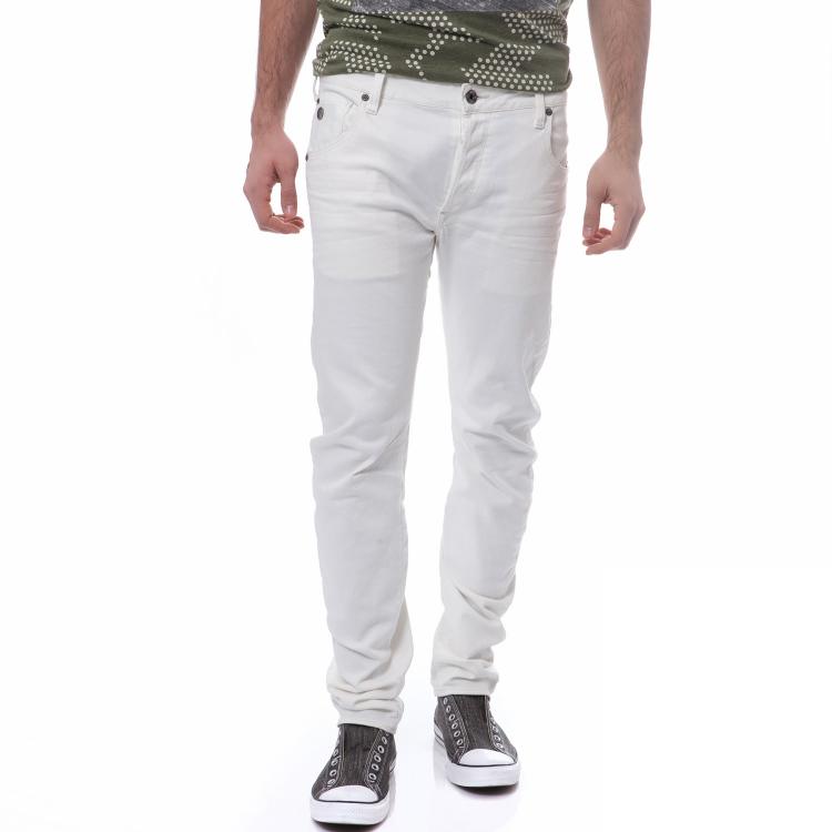 G-STAR RAW - Ανδρικό παντελόνι G-Star Raw λευκό