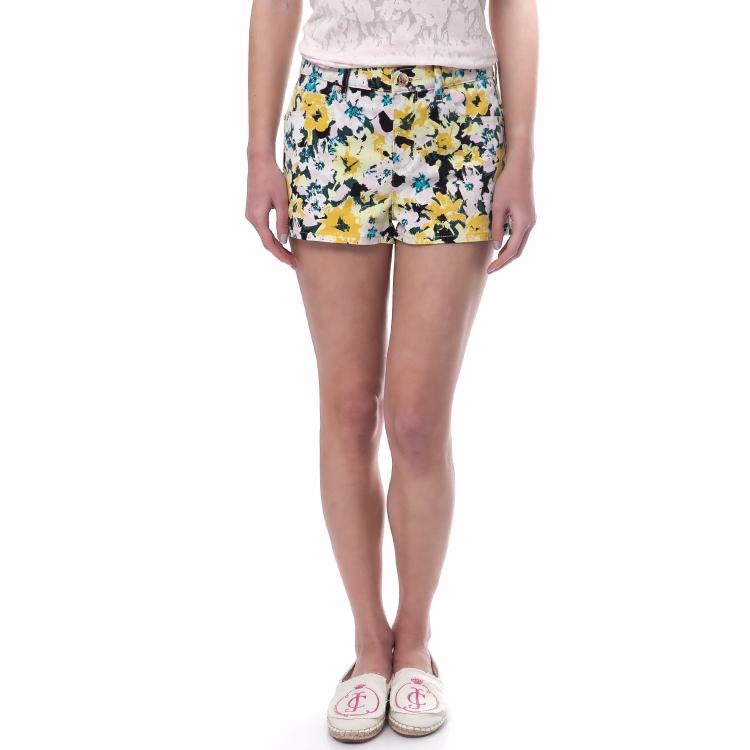 JUICY COUTURE - Γυναικείο σορτς Juicy Couture κίτρινο