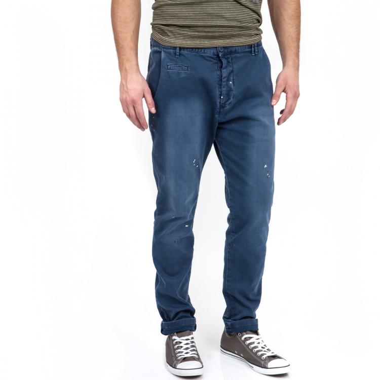 HAMAKI HO - Ανδρικό τζιν παντελόνι HAMAKI HO μπλε