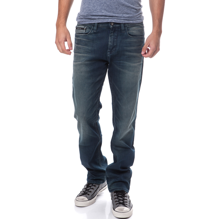CALVIN KLEIN JEANS - Ανδρικό τζιν παντελόνι Calvin Klein Jeans μπλε