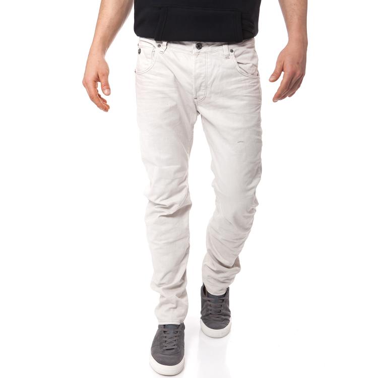 G-STAR RAW - Ανδρικό τζιν παντελόνι G-Star Raw μπεζ