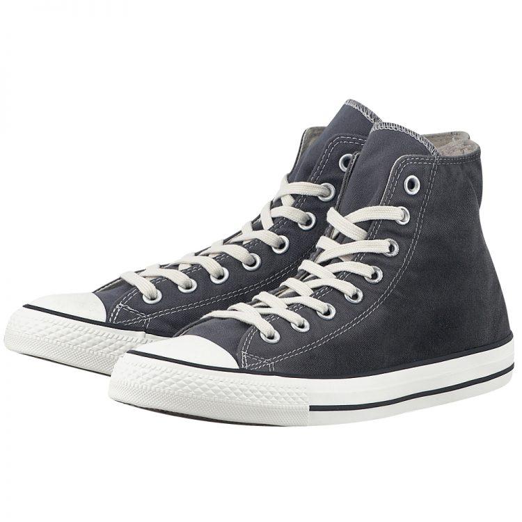 Converse - Converse Chuck Taylor All Star Hi 151206C-4 - ΓΚΡΙ/ΤΖΗΝ