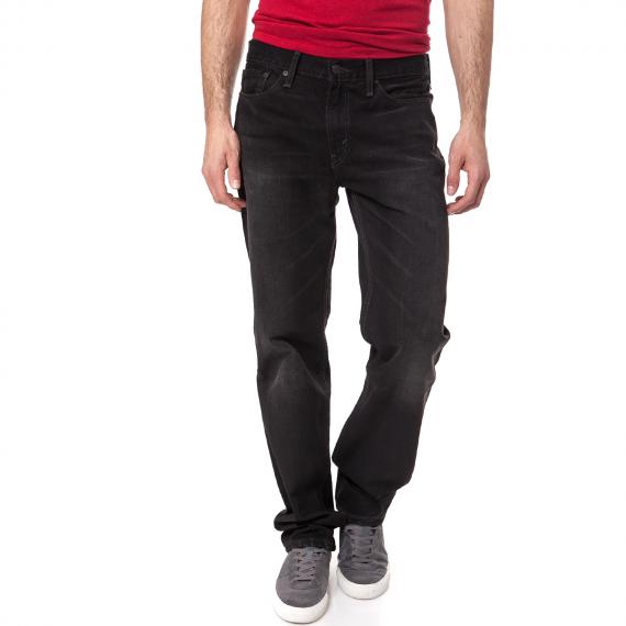 LEVI'S - Ανδρικό τζιν παντελόνι Levi's 514 STRAIGHT BULLOCK μαύρο