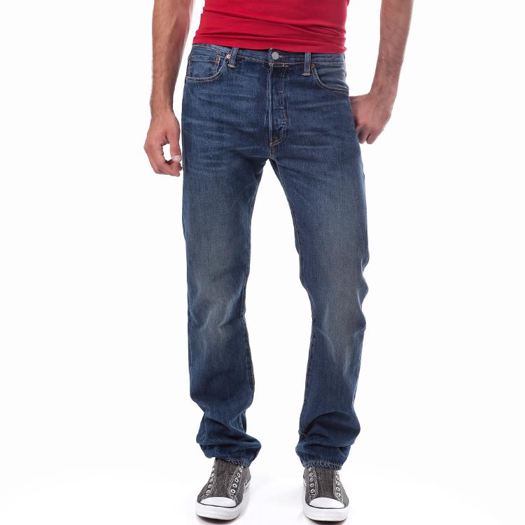 LEVI'S - Ανδρικό τζιν παντελόνι Levi's 501 μπλε
