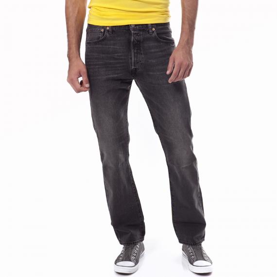 LEVI'S - Ανδρικό τζιν παντελόνι Levi's 501 μαύρο