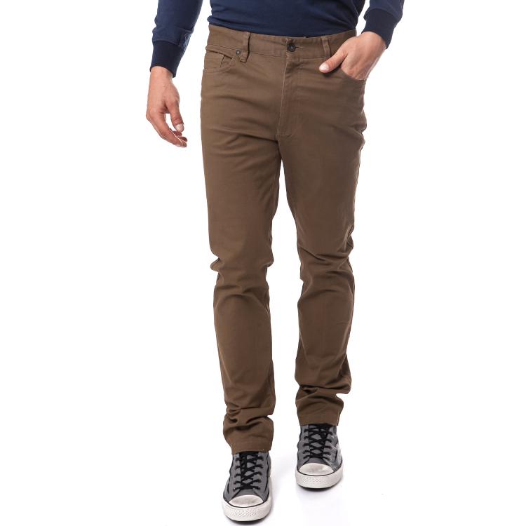 DORS - Ανδρικό παντελόνι Dors καφε