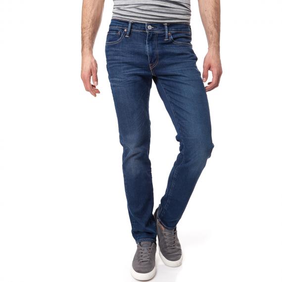 LEVI'S - Ανδρικό τζιν παντελόνι Levi's 511 SLIM FIT μπλε