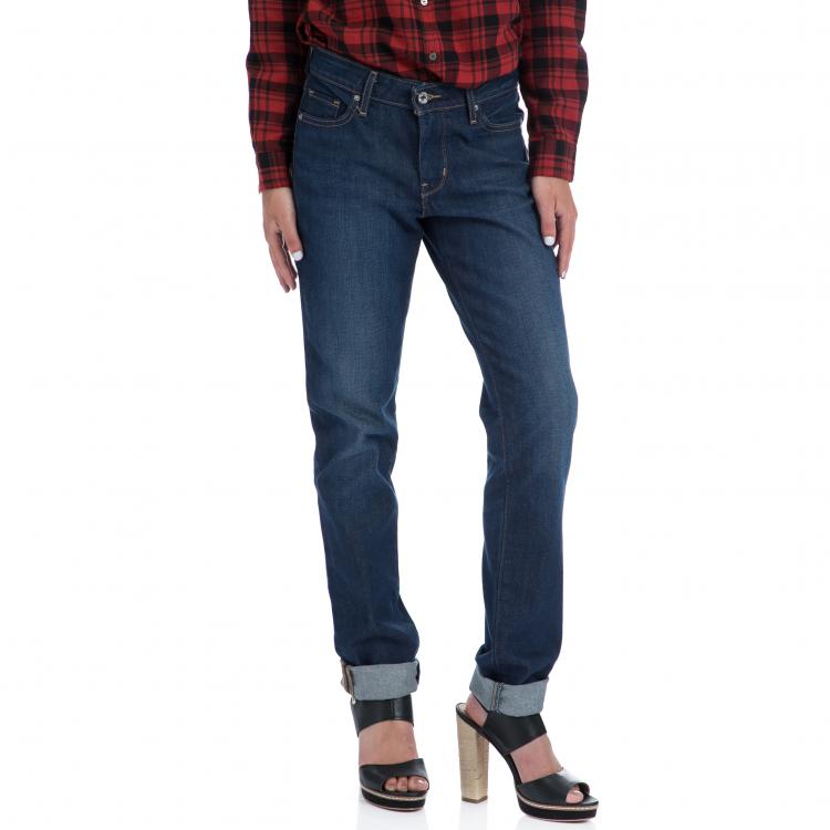 LEVI'S - Γυναικειο τζιν παντελόνι Levi's 712 SLIM REWIND μπλε