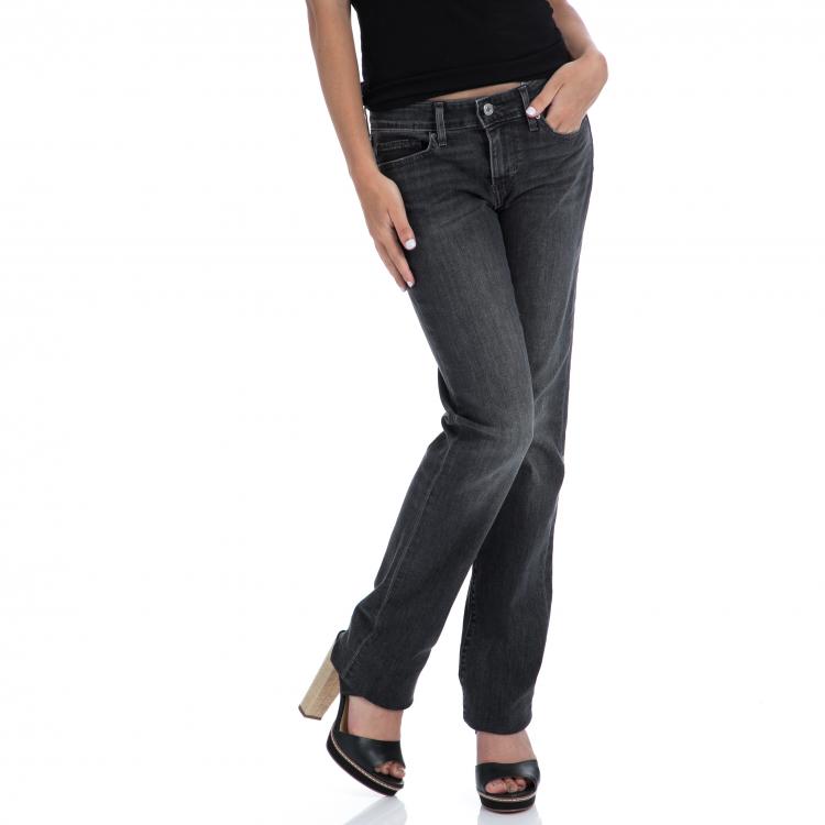 LEVI'S - Γυναικειο τζιν παντελόνι Levi's 714 STRAIGHT MONDAY MORNING μαύρο