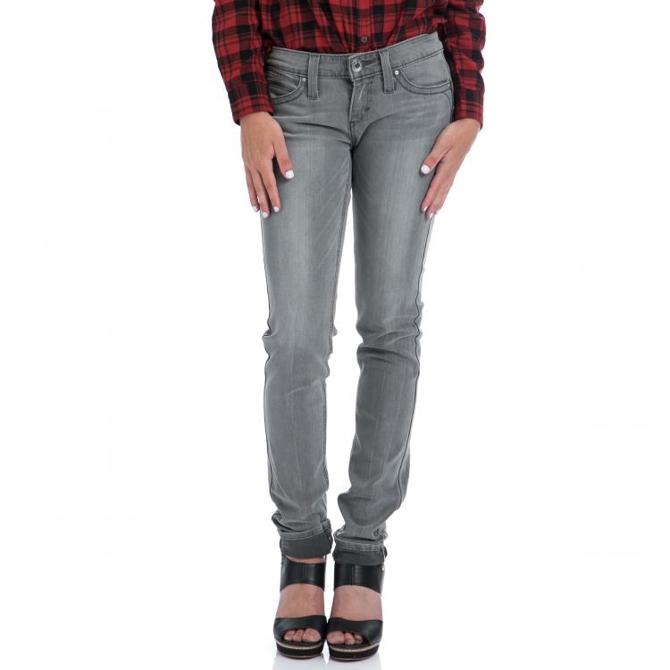 LEVI'S - Γυναικειο τζιν παντελόνι Levi's REVEL LOW DC SKINNY γκρι