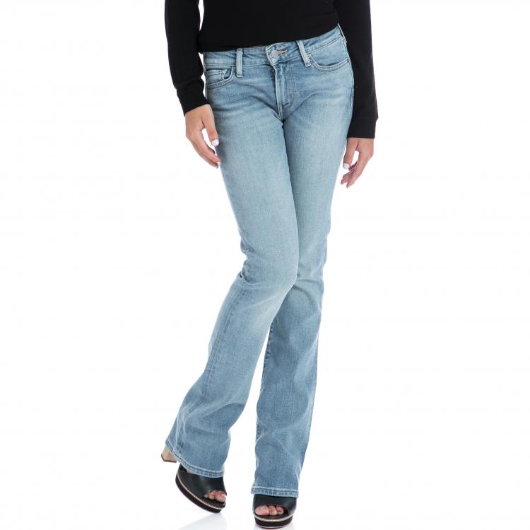 LEVI'S - Γυναικειο τζιν παντελόνι Levi's 715 BOOTCUT μπλε