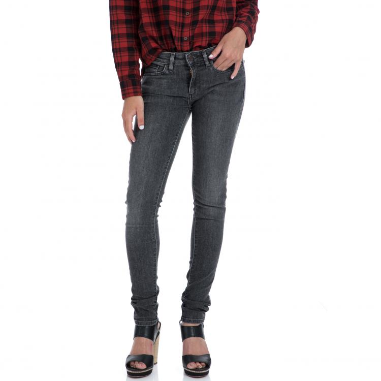 LEVI'S - Γυναικειο τζιν παντελόνι Levi's 711 SKINNY μαύρο-γκρι