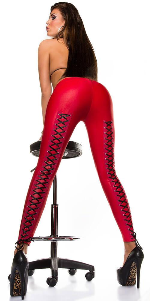 Κολάν - Sexy leggings Slp-18256-Red