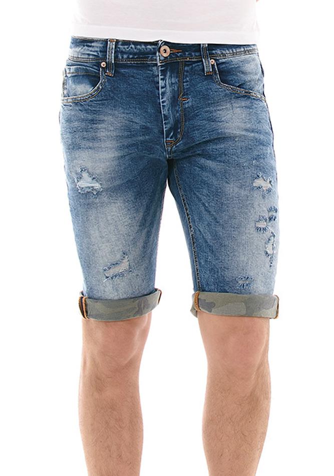 Ανδρική Βερμούδα Jean Fashion Blue