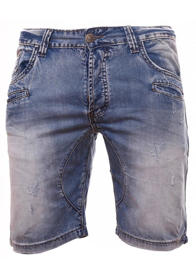 Ανδρική Jean Βερμούδα Pockets