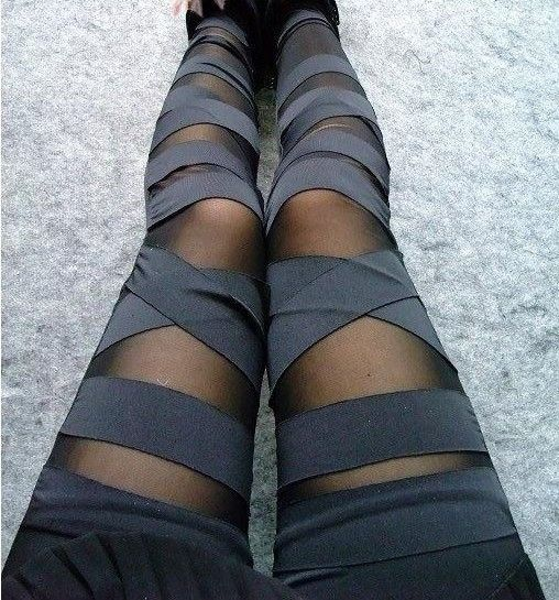 X BLACK LEGGINGS