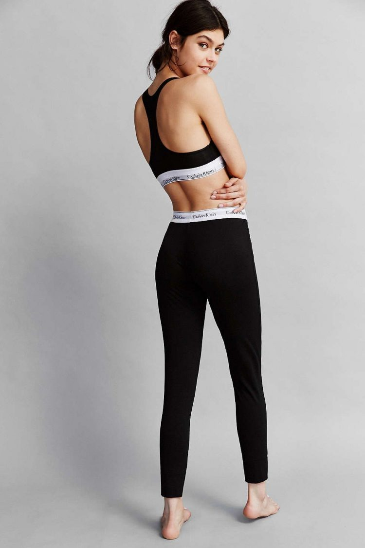CALVIN KLEIN BLACK LEGGINGS 2