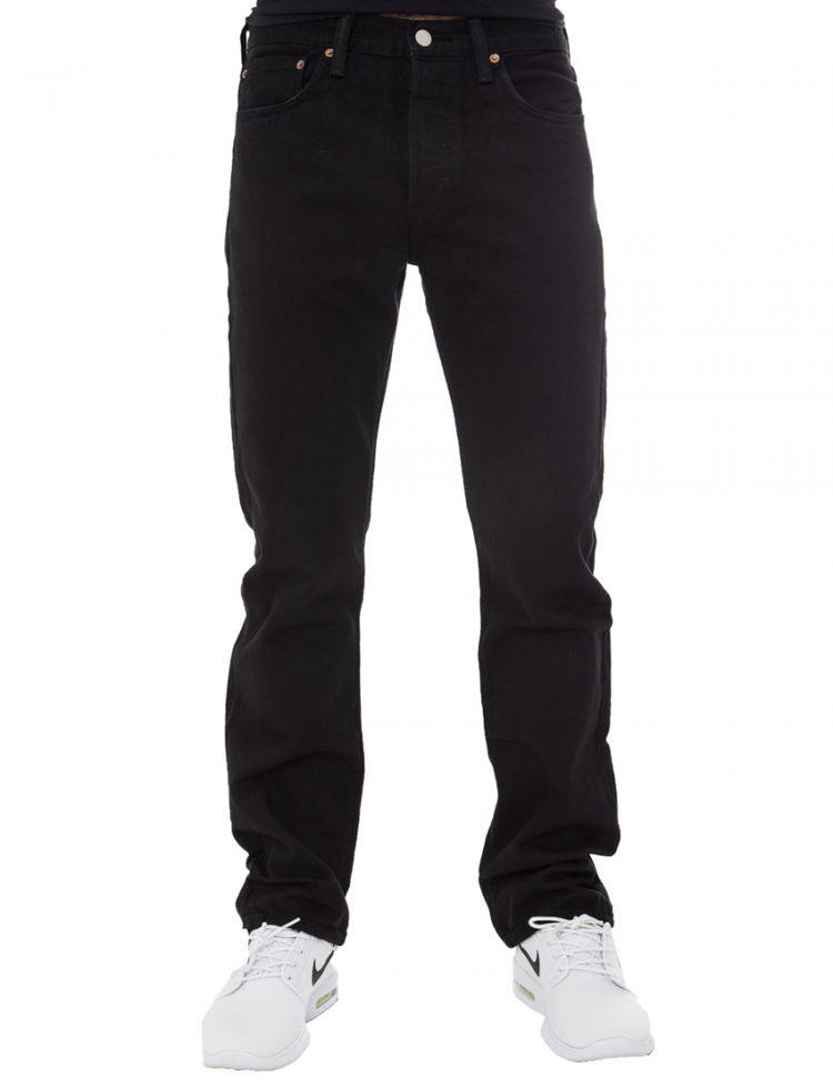 LEVIS Παντελόνι 501 ORIGINAL FIT BLACK LEV00501-0165316