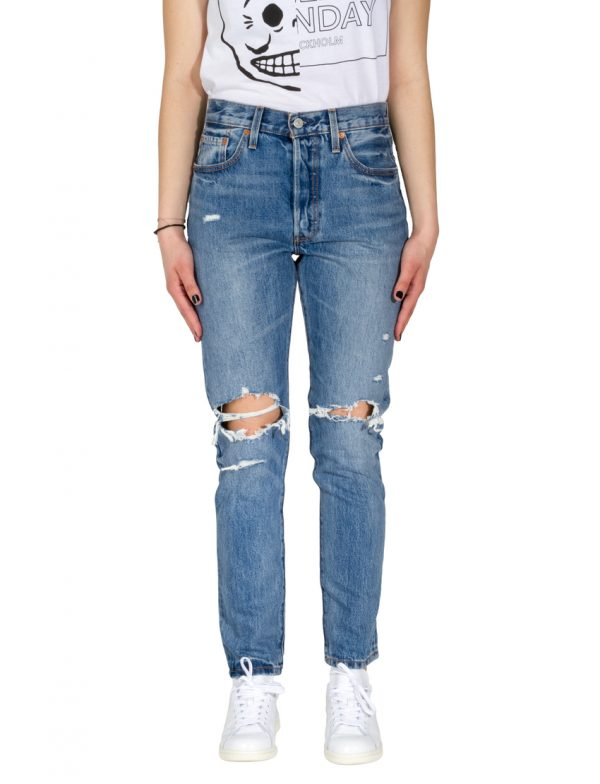 LEVIS Παντελόνι 501 SKINNY OLD HANGOUTS LEV29502-0008 117