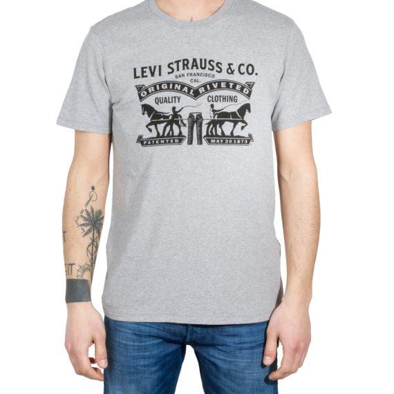 LEVIS T-Shirt GRAPHIC SETIN NECK 2HORSE MIDT LEV17783-0175 117