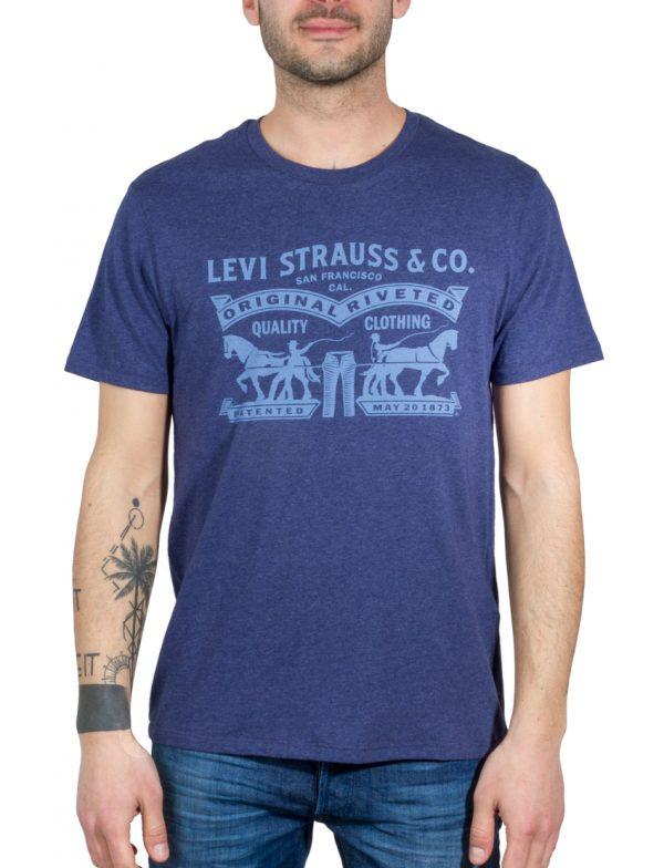 LEVIS T-Shirt 2HORSE GRAPHIC TEE 2H DEEP COB LEV22495-0014 117