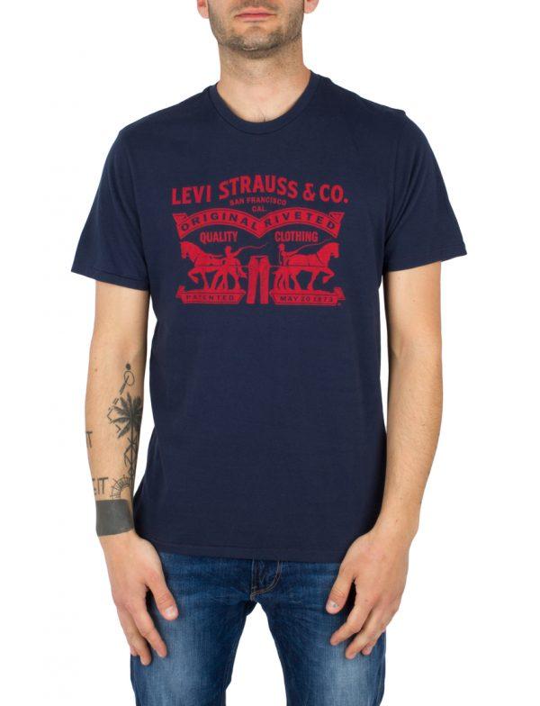 LEVIS T-Shirt GRAPHIC SETIN NECK 2HORSE DRES - BLUES LEV17783-0104 117